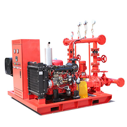 fire pump set, fire fighting pump set, fire fighting water pump set